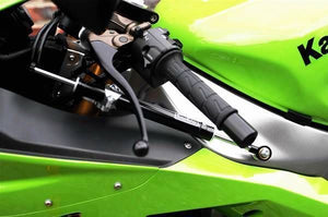 Kawasaki ZX6R 636 03-04 Toby Steering Damper Stabilizer Kit Racing Use Ti/Carbon