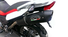 Load image into Gallery viewer, BMW G 650 GS /Sertao 2010-2016 GPR Exhaust Systems Furore Black Slipon Silencer