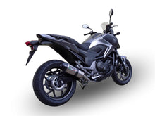 Load image into Gallery viewer, Honda NC 750 X - S DCT 2014-2015 GPR Exhaust GPE Ti Titanium Muffler Road Legal