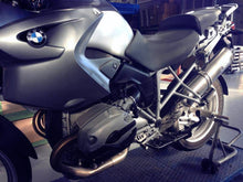 Load image into Gallery viewer, BMW R1200GS 2004-2009 Silmotor Exhaust Titanium Silencer & Carbon Cap Road Legal