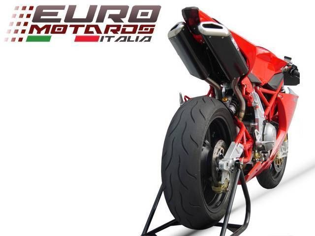 Bimota DB5 2007-2012 Zard Exhaust Penta Carbon Silencers With DB Killers