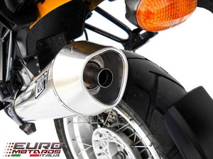 BMW R1200GS & Adventure 2010-2012 Zard Exhaust Conical Steel Silencer Muffler