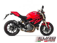 Load image into Gallery viewer, Ducati Monster 1100 Evo Zard Exhaust Carbon Silencers Road Legal