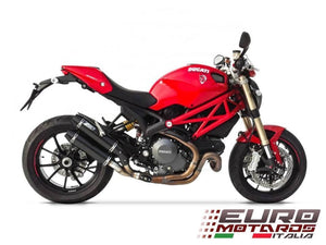 Ducati Monster 1100 Evo Zard Exhaust Carbon Silencers Road Legal