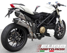 Load image into Gallery viewer, Ducati Streetfighter Zard Exhaust Steel System & Stainless Silencers +3HP
