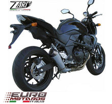 Load image into Gallery viewer, Kawasaki Z750 2004-2012 Zard Exhaust Conical Silencer Carbon Cap Road Legal