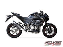 Load image into Gallery viewer, Kawasaki Z800 2013-2016 Zard Exhaust Full System With Penta Black Silencer