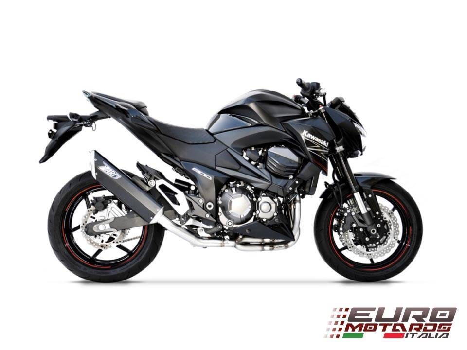Kawasaki Z800 2013-2016 Zard Exhaust Full System With Penta Black Silencer
