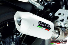 Load image into Gallery viewer, Honda CBF 600N 2004-2006 GPR Exhaust Systems Albus White Slipon Silencer