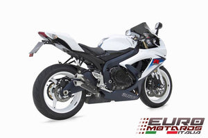 Suzuki GSXR 600 750 Zard Exhaust V2 Slipon Silencer +4HP