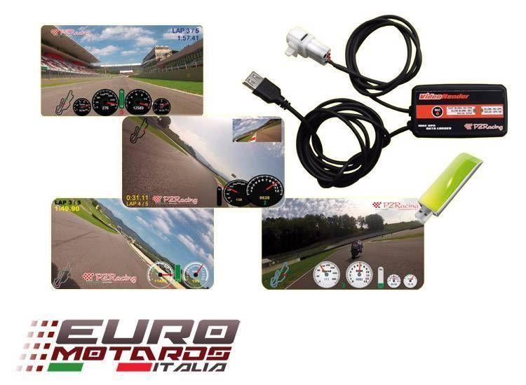 PZRacing Video Logger Plug&Play Suzuki SV 650-1000 / Bandit 650 1250 2007-2011