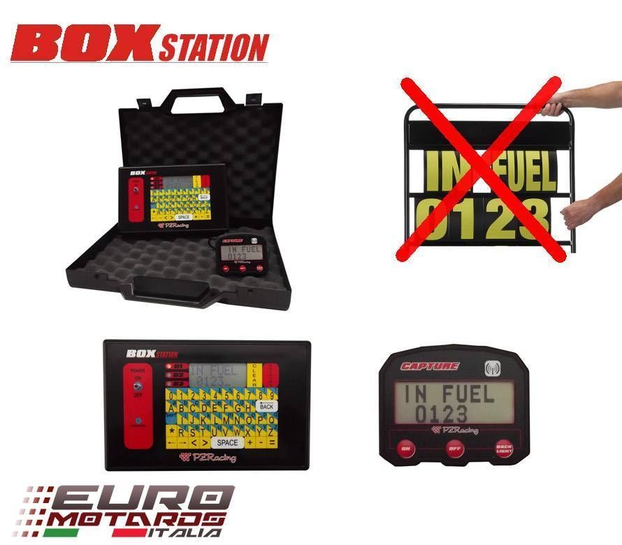 PZRacing BoxStation Rider-Pits Message System Aprilia RSV4 Tuono BMW S1000RR HP4