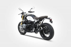 "BMW RnineT R-nine T Zard Exhaust Special Edition ""Bad Child"" Black Silencer -2Kg"