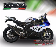 Load image into Gallery viewer, BMW S1000RR 2015 GPR Exhaust Systems Deeptone Nero Silencer Racing