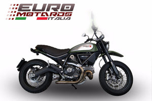 Ducati Scrambler 2014-2016 GPR Exhaust Ghost Slipon Silencer Road Legal