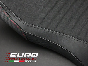 Aprilia Caponord 1200 2013-2018 Luimoto Team Italia Tec-Grip Seat Cover Set New