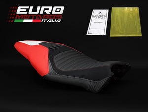 Ducati Monster 1200R 2016-2018 Luimoto Corsa Tec-Grip Suede Seat Cover 2 Colors