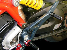 Load image into Gallery viewer, Ducabike Billet Passenger Footrest Black Ducati Hypermotard SP 821 Strada