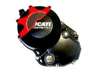 Ducabike Clutch Cover Protector Red Ducati Monster 696 796 1100 Multistrada 1200