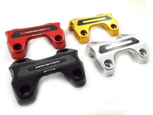 Load image into Gallery viewer, Ducabike Handlebar Clamp With Carbon For Ducati Monster 821 797 2014-2018