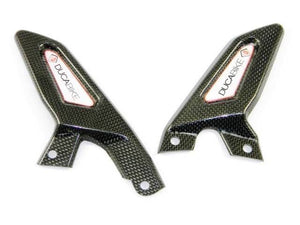 Ducabike Ducati 899 1199 Panigale Rearsets Carbon Heel Guards RP52