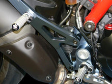 Load image into Gallery viewer, Ducabike Billet Passenger Footrest Silver Ducati Hypermotard SP 821 Strada