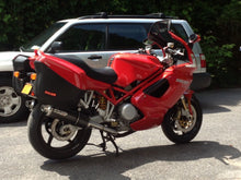 Load image into Gallery viewer, Ducati ST3 ST-3 GPR Exhaust Systems Carbon Oval Slipon Mufflers