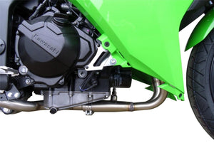 Kawasaki Ninja 300R 2013 GPR Exhaust Systems GPE Ti Full System With Catalyzer