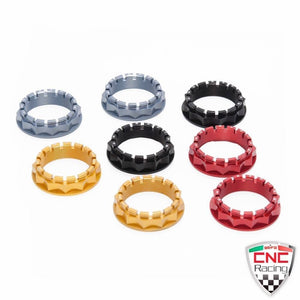 CNC Racing Rear Wheel Nuts 4 Colors Ducati Multistrada 1200 Streetfighter 1100