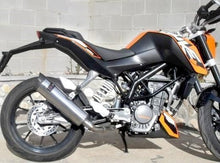 Load image into Gallery viewer, KTM Duke 125 / 200 i.e. 2011-2013 Endy Exhaust Silencer XR-3 Slip-On