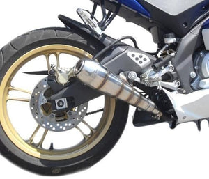 Suzuki GSXR 600 i.e. 2006-2007 Endy Exhaust Muffler GP Hurricane - No Catalyzer