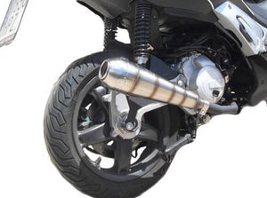 Peugeot Tweet 125 i.e. 2010-2012 Endy Exhaust Full System GP Hurricane