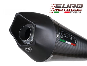 Kawasaki ER6 12-16 N-F GPR Exhaust Full System With Catalyzer GPE CF Silencer
