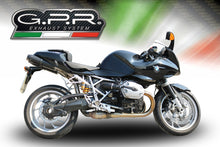 Load image into Gallery viewer, BMW R 1200 S 2006-2008 GPR Exhaust Systems Furore Black Dual SlipOn Mufflers New