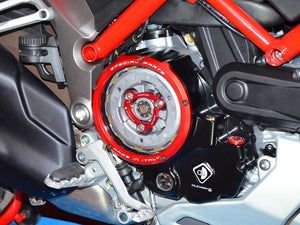 Ducati Multistrada 1200 DVT 2015 XDiavel Ducabike Clear Clutch Cover Oil Bath