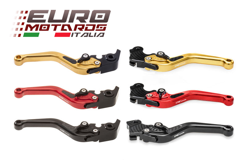 Ducati Multistrada 1200 2010-16 CNC Racing Adjustable Short Brake+Clutch Levers