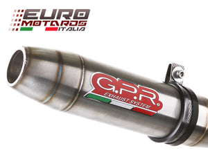 BMW F800R 2015-2016 GPR Exhaust Systems Deeptone Slipon Muffler Silencer