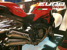 Load image into Gallery viewer, Ducati Monster 1200 Silmotor Exhaust Slipon Muffler Silencer Double Megaphone