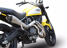 Load image into Gallery viewer, Ducati Scrambler 800 14-16 High Mount EXAN X-Black Evo Inox Exhaust Full System