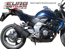 Load image into Gallery viewer, Kawasaki Z300 2015-2016 Endy Exhaust Slip-On Silencer XR3 Black Road Legal New