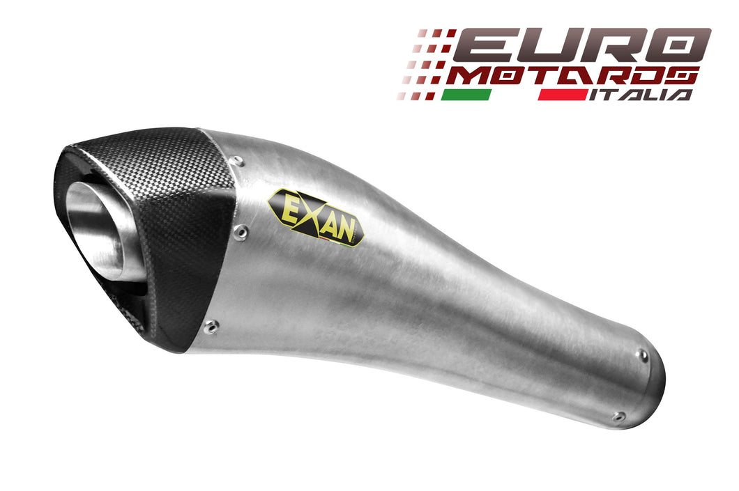Ducati Hypermotard 1100 2007-2012 EXAN X-Black Evo Inox Exhaust Full System New