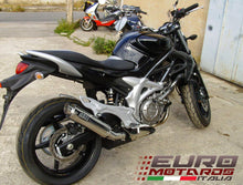 Load image into Gallery viewer, Suzuki SFV 650 Gladius 2008-2015 MassMoto Exhaust Slip-On Silencer GP1 Inox New