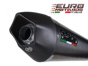 BMW F 800 S /ST 2006-2011 GPR Exhaust Systems GPE CF Slipon Muffler Silencer