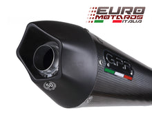 Load image into Gallery viewer, Derbi DRD 125 R-SM 2009-2013 GPR Exhaust Systems GPE CF Slipon Muffler Silencer