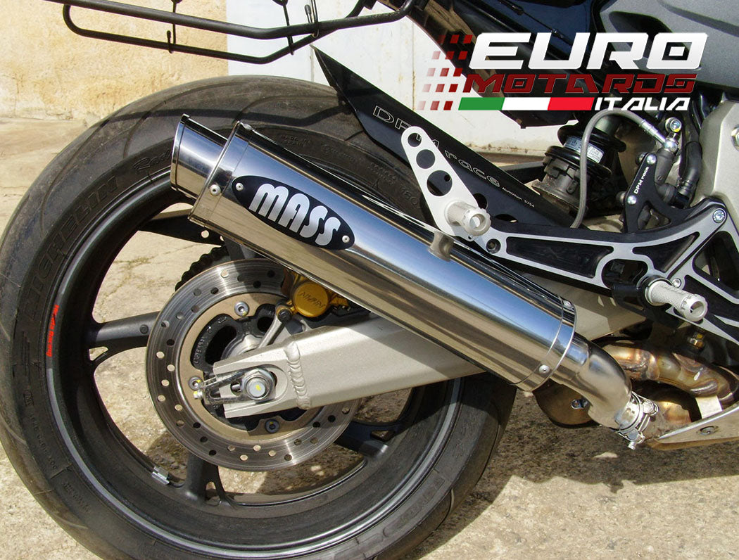 Honda Hornet 600/CB599 2007-2015 MassMoto Exhaust Slip-On Silencer GP1 Inox New