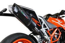 Load image into Gallery viewer, GPR Exhaust High Mount SlipOn Silencer Furore Nero for KTM Duke 390 2017-2018