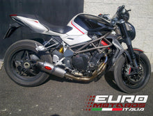 Load image into Gallery viewer, MV Agusta Brutale 1090 10-14 MassMoto Exhaust Low Kit Full System Oval Titanium