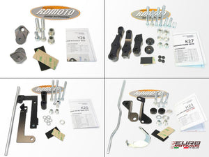 Suzuki GSXS 1000 2014-2019 RD Moto Crash Frame Sliders White S47-PH01-W 2 Points