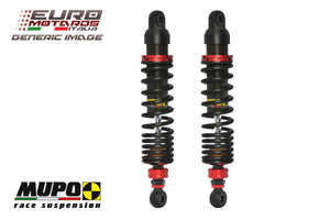 Triumph Bonneville 2001-2014 Mupo Suspension ST03 Twin Shock Absorbers New