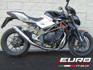 MV Agusta Brutale 1078 4in1 2008-2012 MassMoto Exhaust Full System GP1 Inox New